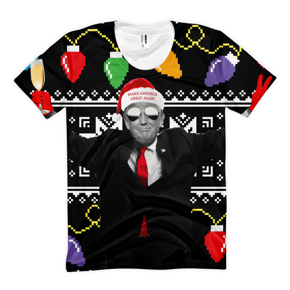 Donald Trump Ugly Christmas Sweater - Miss Deplorable