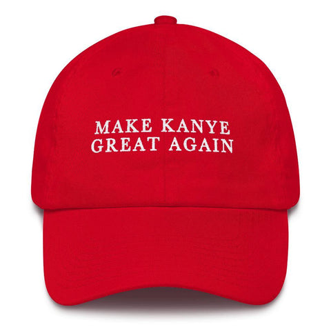 Kanye West Hat - Make Kanye Great Again Cap - Donald Trump Classic Make America Great Again Hat - Miss Deplorable