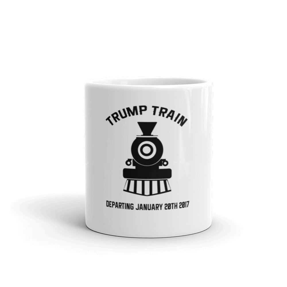 Donald Trump Train Mug - Miss Deplorable