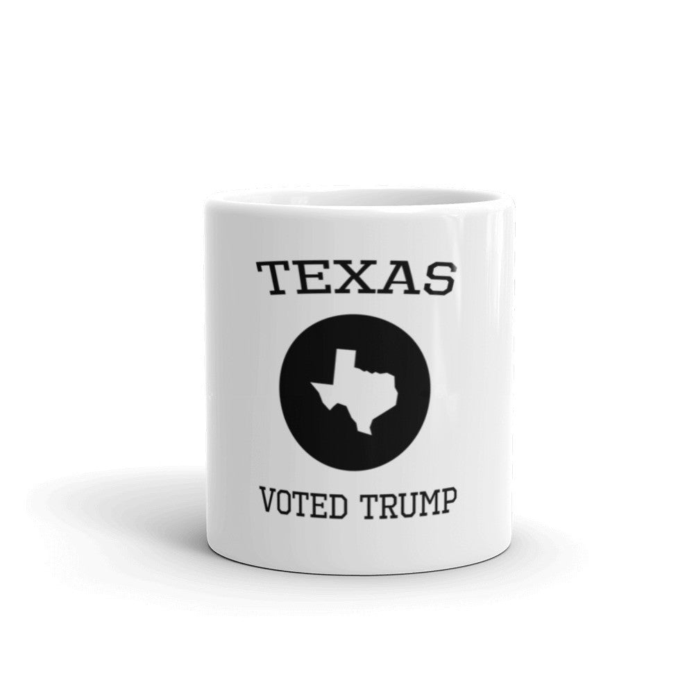 Texas Voted Donald Trump Mug - Miss Deplorable