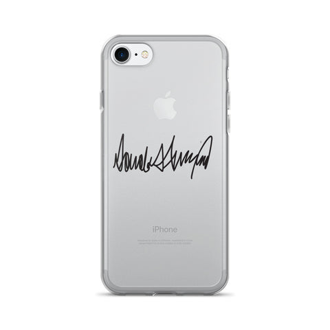 Donald Trumps Autograph iPhone 7/7 Plus Case for $0.20 at Miss Deplorable