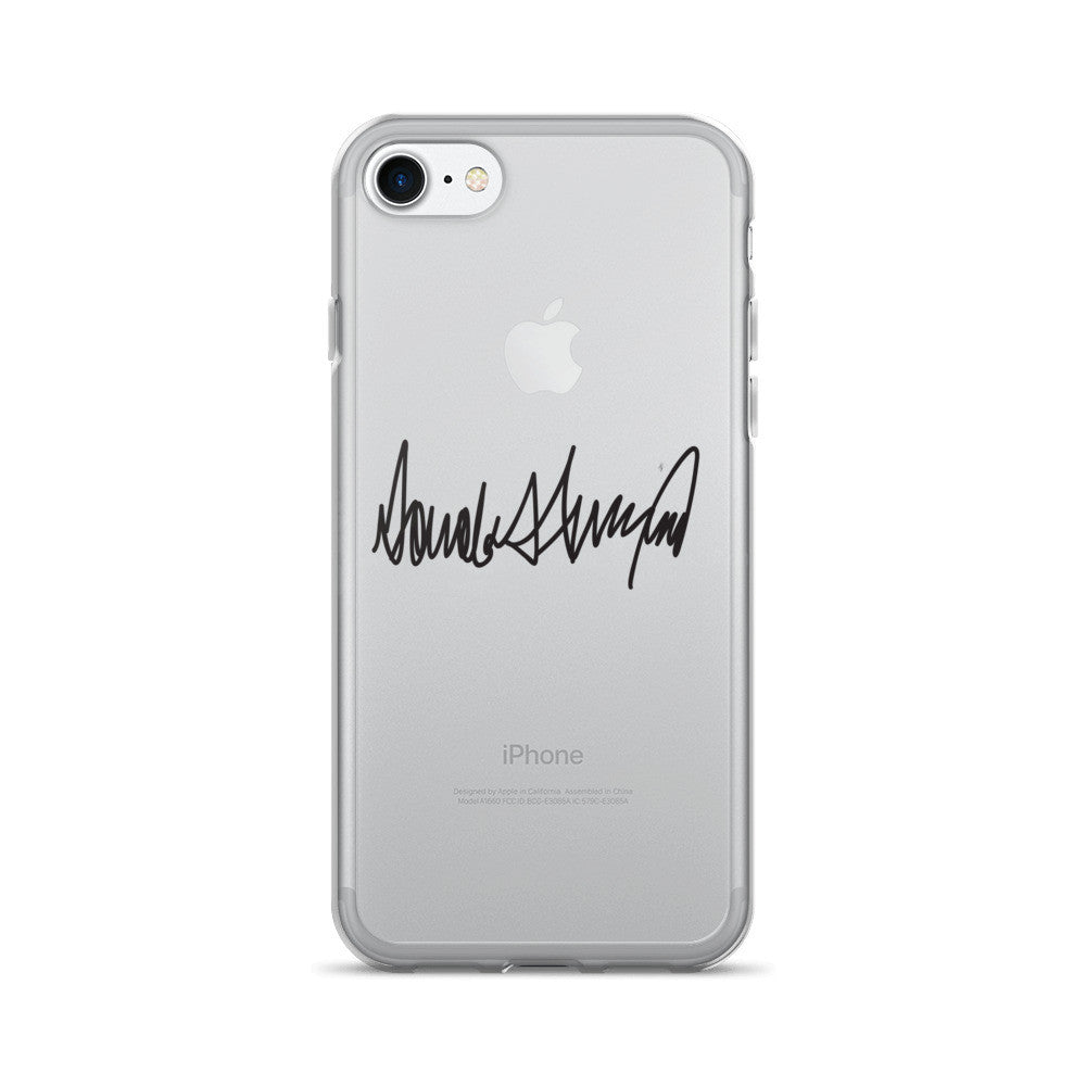 Donald Trumps Autograph iPhone 7/7 Plus Case - Miss Deplorable