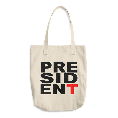 President Donald Trump Cotton Tote Bag - Miss Deplorable