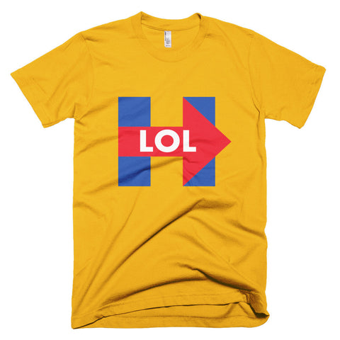 f575c9427a Buy Funny Hillary Clinton LOL Men's T-Shirt at Miss Deplorable for ...