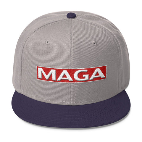 Donald Trump MAGA Wool Blend Snapback - Miss Deplorable