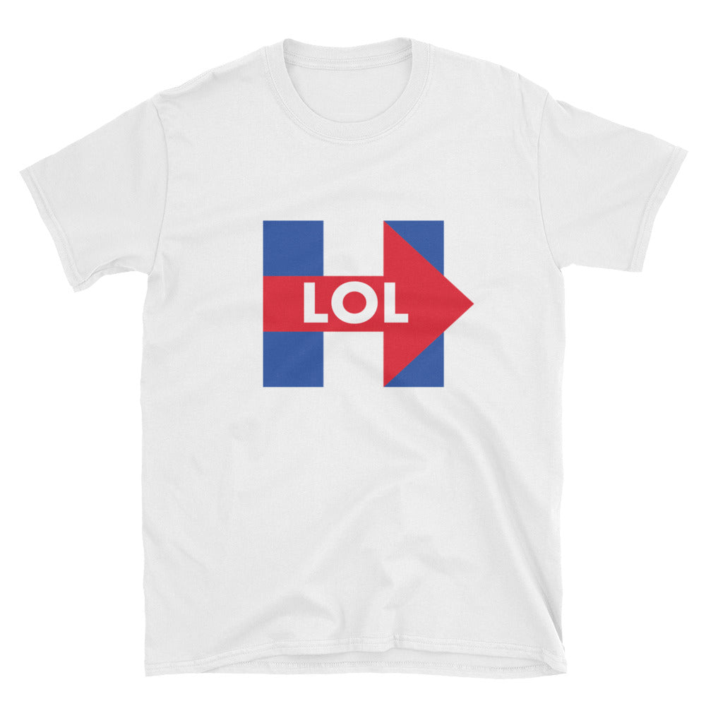 Hillary Clinton LOL Womens T-Shirt - Miss Deplorable
