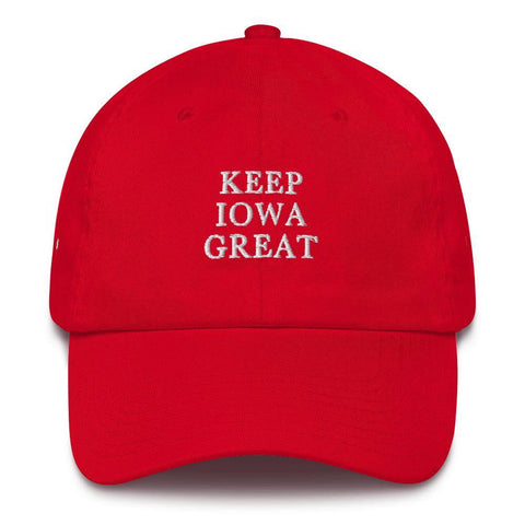 Keep Iowa Great Hat for $39.00 at Miss Deplorable