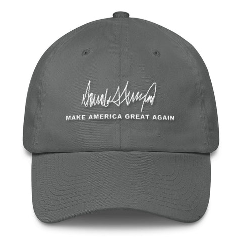 Make America Great Again Trump Signature Cotton Cap for $35.00 at Miss Deplorable