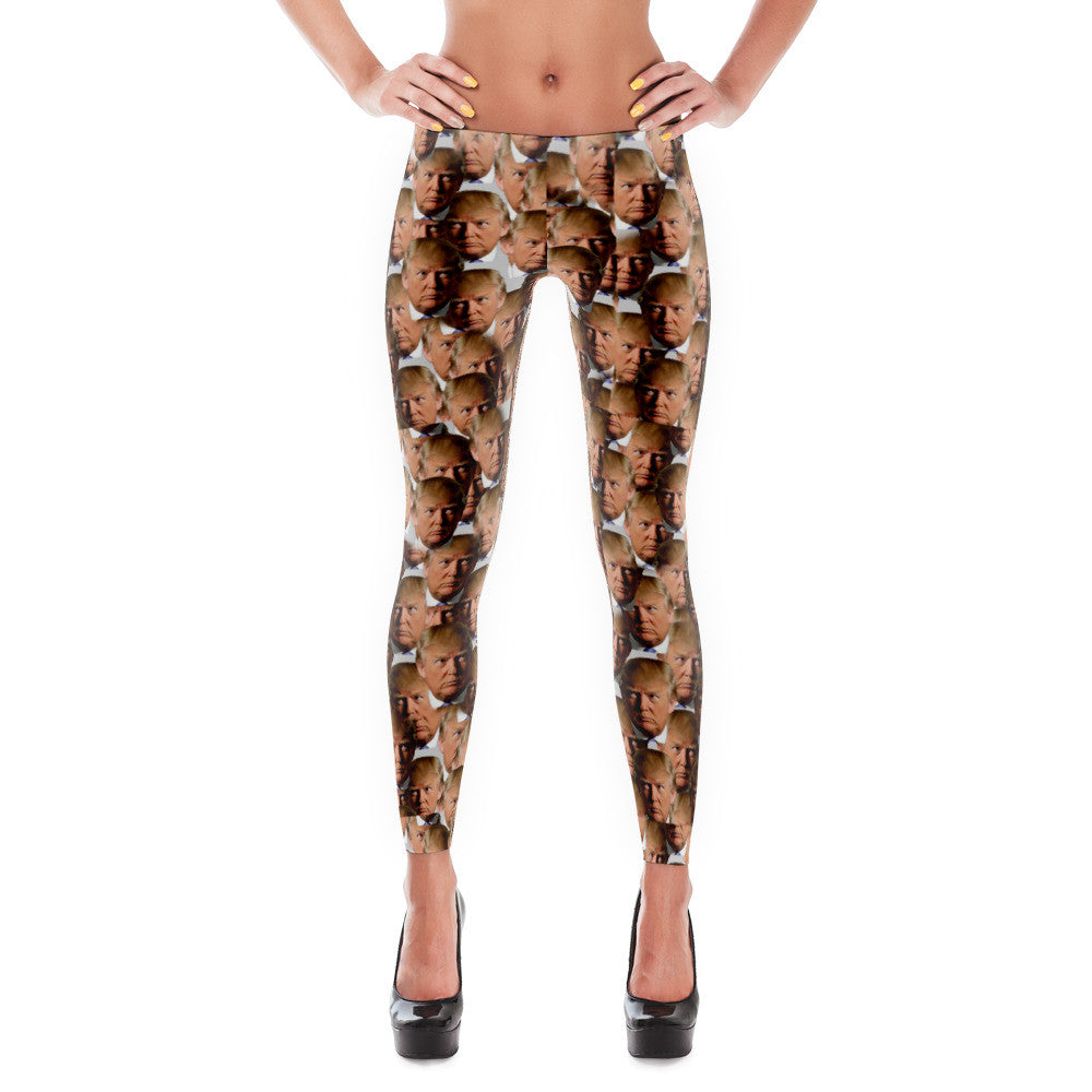 Mosaic Donald Trump Leggings - Miss Deplorable