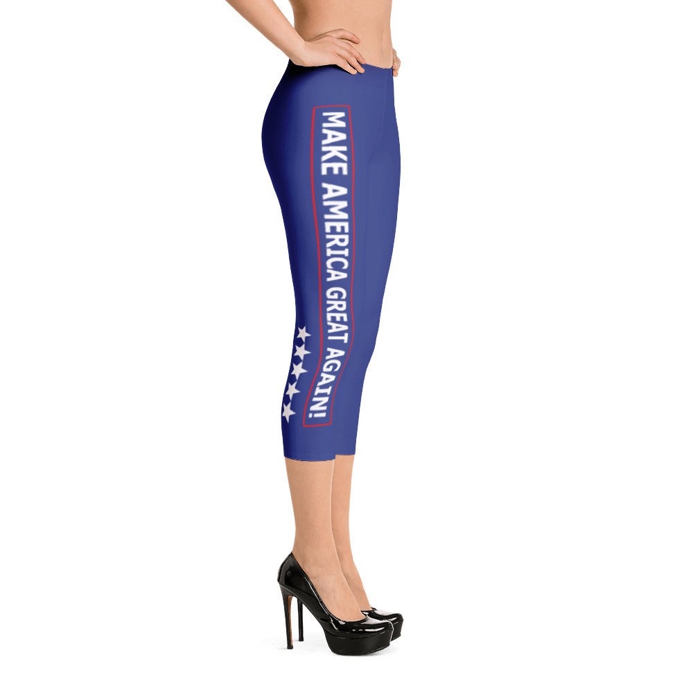 MAGA Capri Leggings - Miss Deplorable