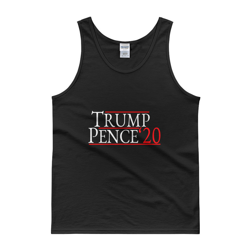 Trump Pence 2020 Mens Tank Top for $26.00 at Miss Deplorable
