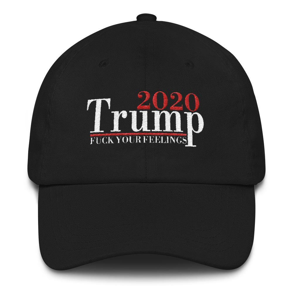 Donald Trump 2020 Fuck Your Feelings Baseball Hat - Miss Deplorable