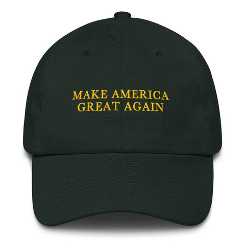 Green Make America Great Again Donald Trump St. Patricks Day MAGA Baseball Hat