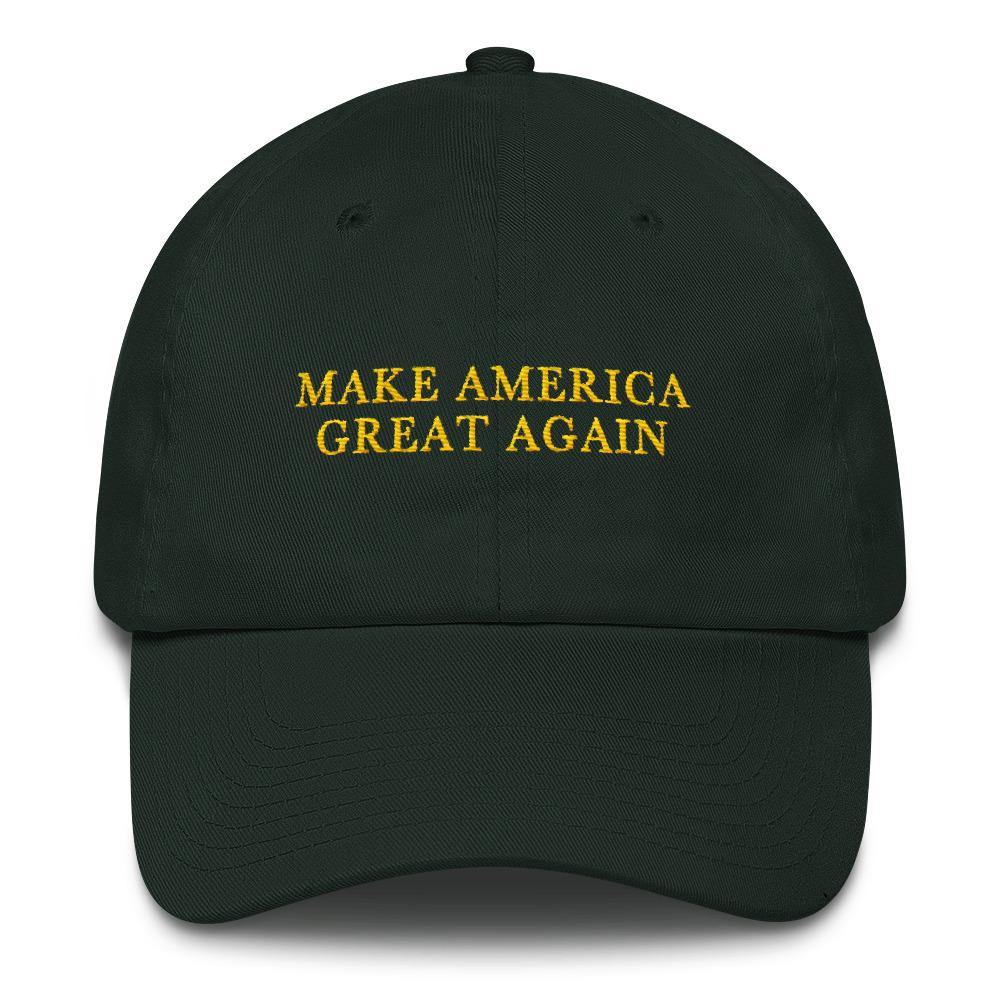 Green Make America Great Again Donald Trump St. Patricks Day MAGA Baseball Hat for $45.00 at Miss Deplorable