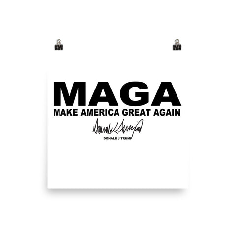 "Make America Great Again ""MAGA"" Poster - Miss Deplorable"