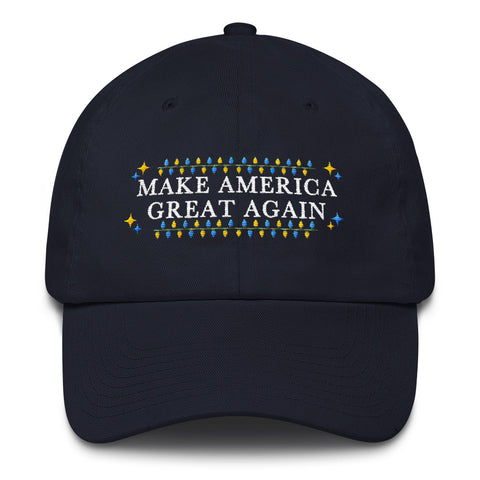 Miss Deplorable Donald Trump Christmas Hat - Make America Great Again Cotton Cap