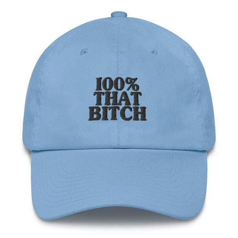 100% That Bitch Hat - That Bitch Baseball Cap - Miss Deplorable