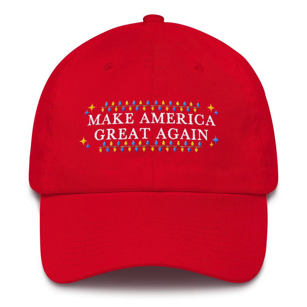 Miss Deplorable Donald Trump Christmas Hat - Make America Great Again Cotton Cap - Miss Deplorable