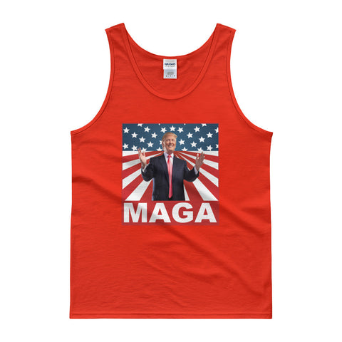 Make America Great Again MAGA Donald Mens Trump Tank top - Miss Deplorable