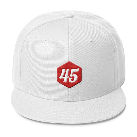 Donald Trump 45 Wool Blend Snapback - Miss Deplorable