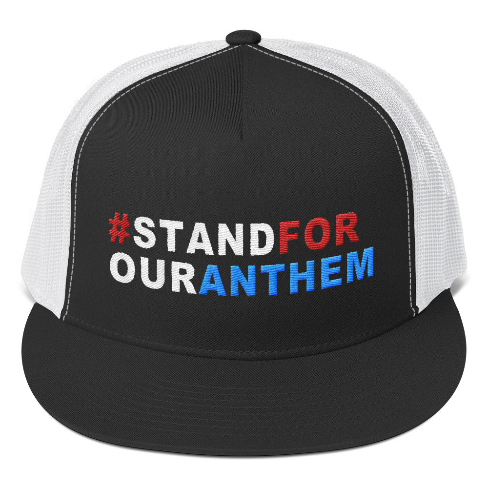 Stand For Our Anthem Trucker Cap for $32.00 at Miss Deplorable