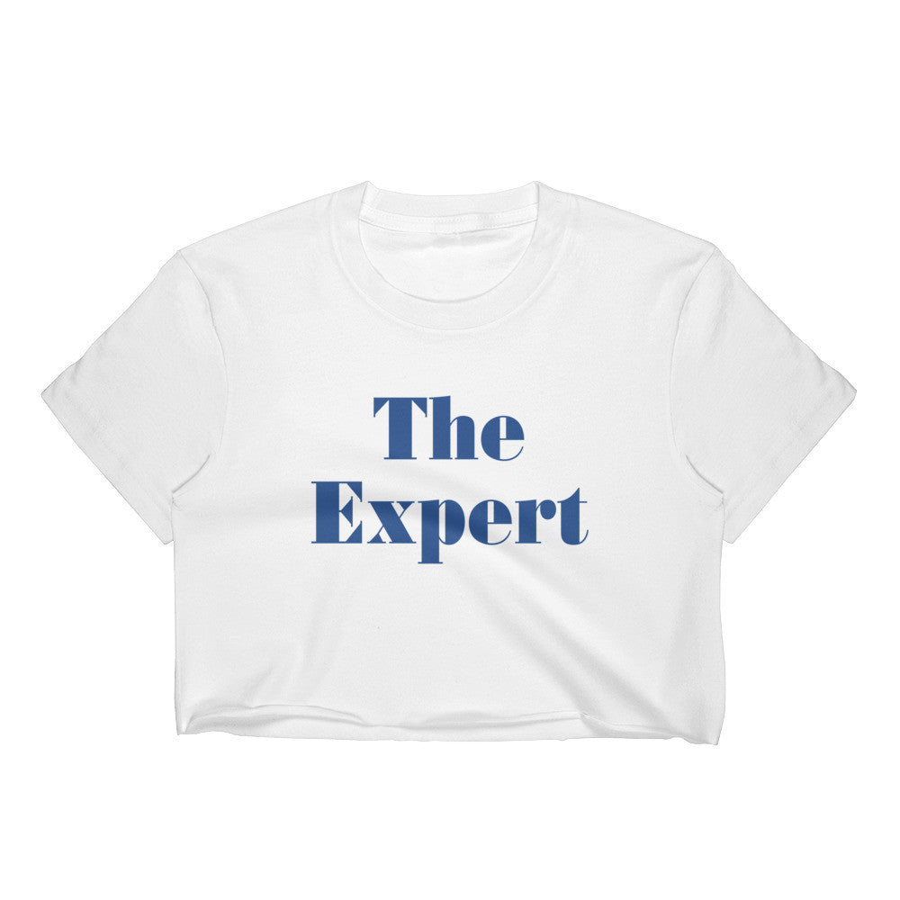 The Expert Barron Trump Women's Crop Top for $32.00 at Miss Deplorable