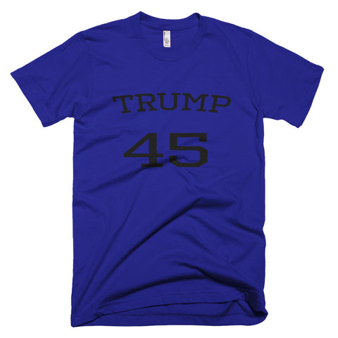 Trump 45 Donald Trump Short sleeve men's t-shirt - Miss Deplorable