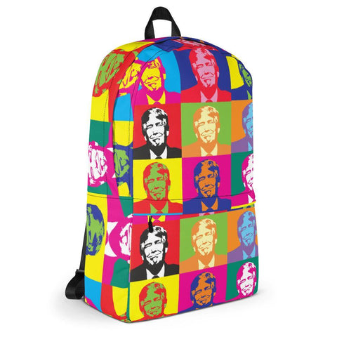 Donald Trump Andy Warhol Pop Art Backpack for $59.95 at Miss Deplorable