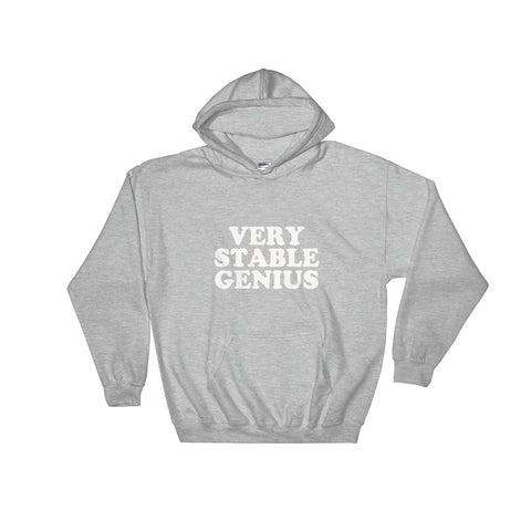 Donald Trump Very Stable Genius Hoodie - Miss Deplorable