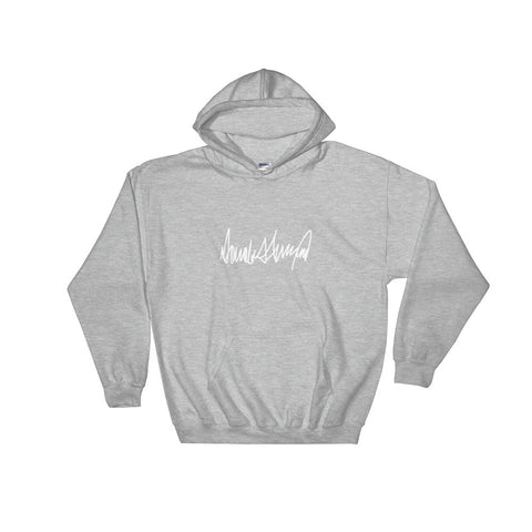 Donald Trumps Autograph Hooded Sweatshirt for $39.00 at Miss Deplorable