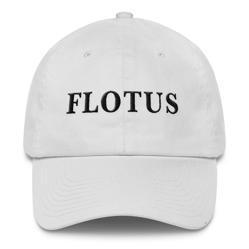 Melania Trump Flotus Cotton Cap White - Miss Deplorable