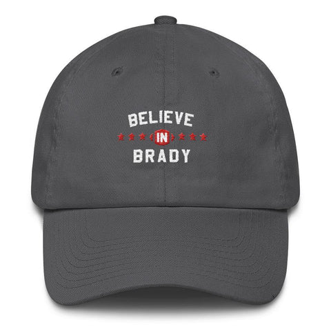 Believe In Brady Baseball Hat New England Patriots Tom Brady Cap - Miss Deplorable