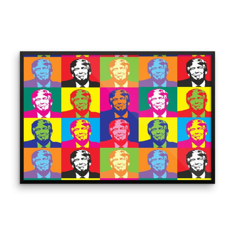 Andy Warhol Framed Donald Trump Poster - Miss Deplorable