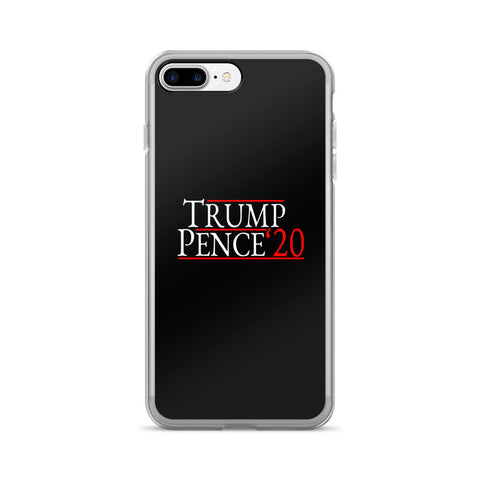 Trump Pence 2020 iPhone 7/7 Plus Case - Miss Deplorable