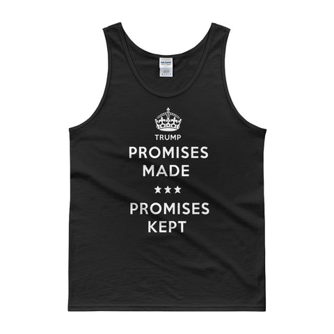 Donald Trump Tank top | Promises Made Campaign Mens Tank for $0.25 at Miss Deplorable