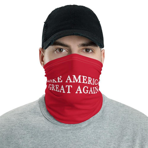 Make America Great Again Neck Gaiter Scarf for $34.00 at Miss Deplorable