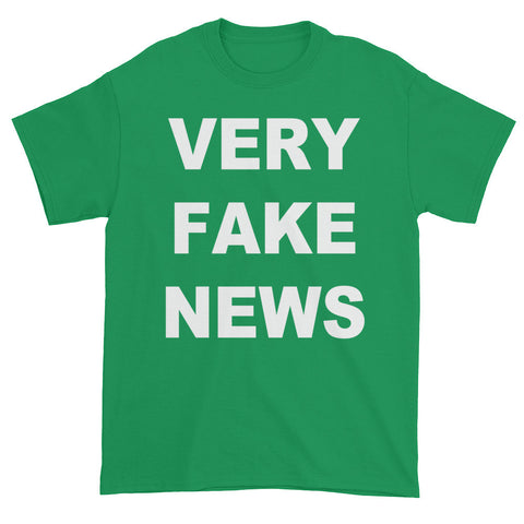 Very Fake News Donald Trump Jr T Shirt Green Mens for $25.00 at Miss Deplorable