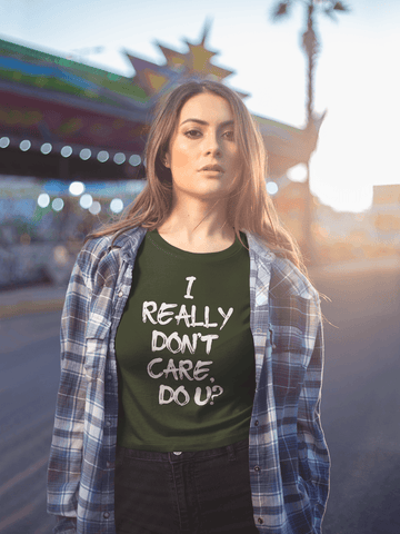 I Really Don't Care Do You T Shirt - Melania Trump for $25.00 at Miss Deplorable