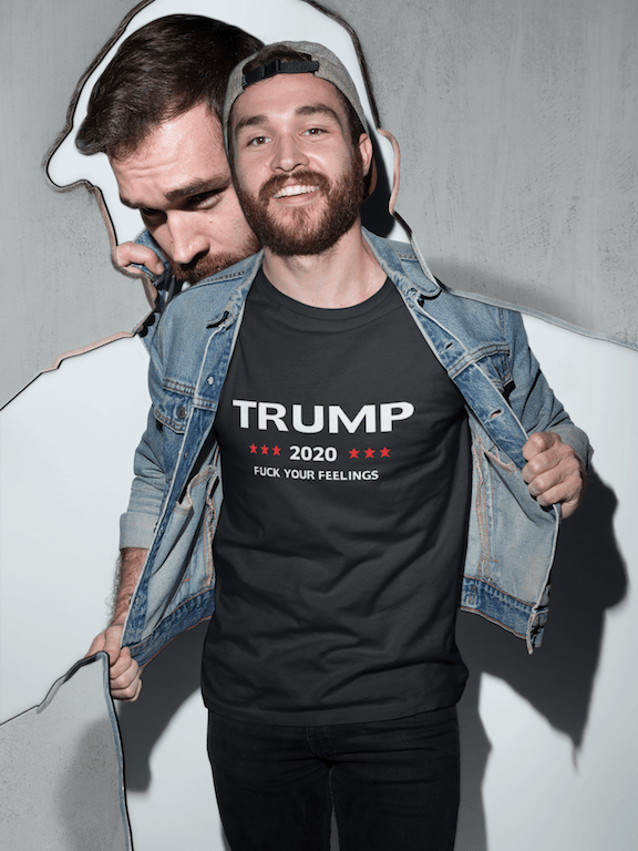 Trump 2020 Fuck Your Feelings T Shirt - Miss Deplorable
