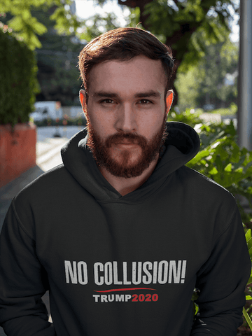 No Collusion Trump 2020 Hoodie for $39.00 at Miss Deplorable