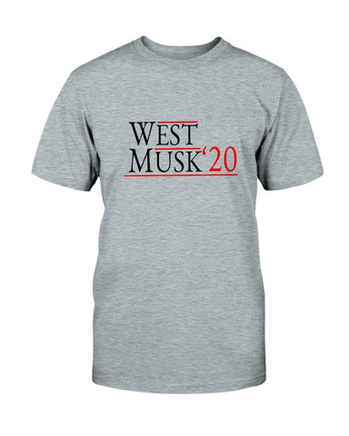 West / Musk 2020 T-Shirt (EB FL) for $29.00 at Miss Deplorable