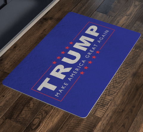 Donald Trump Make America Great Again Doormat for $34.00 at Miss Deplorable