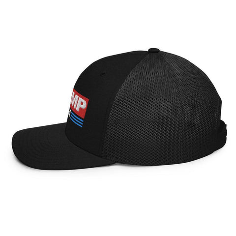 Trump 2024 Two Tone Trucker Cap for $39.00 at Miss Deplorable