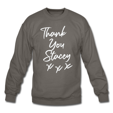 Thank You Stacey Sweatshirt (MD SPD) - asphalt gray