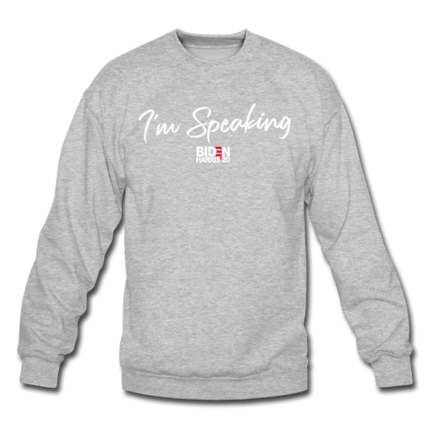 Im Speaking Sweatshirt (MD SPD) - heather gray