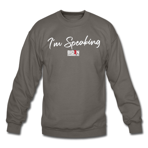 Im Speaking Sweatshirt (MD SPD) - asphalt gray