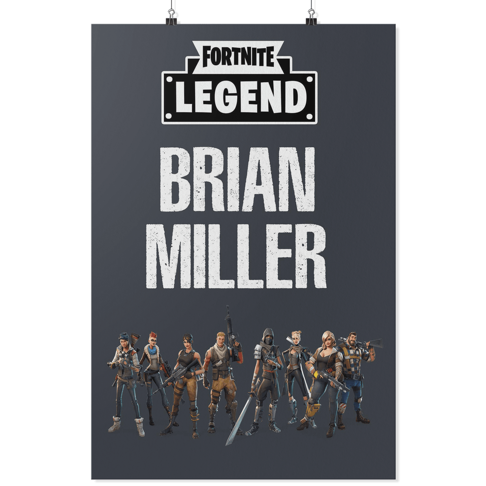 Custom Gaming Poster | Name: Brian Miller - Miss Deplorable