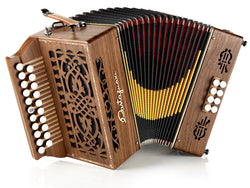 Castagnari - Sander - 2 row - 3 voice - 8 bass - Melodeon / diatonic accordion -  squeezeboxes.co.uk