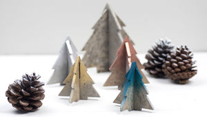 Concrete Chritmas Trees