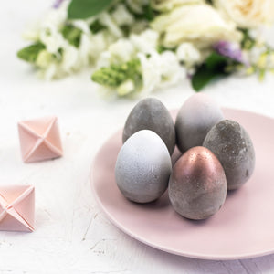 Concrete Easter Eggs